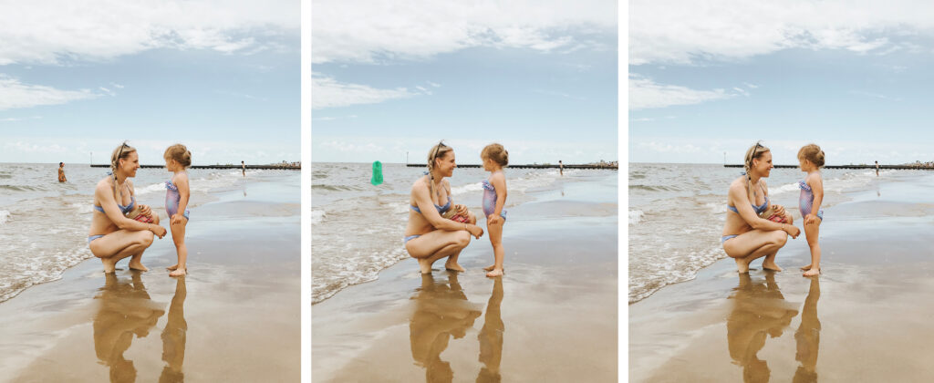 Come cancellare oggetti da foto