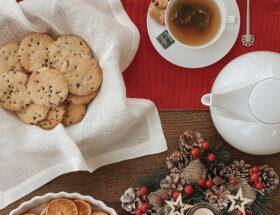 consigli per scattare flatlay natalizi