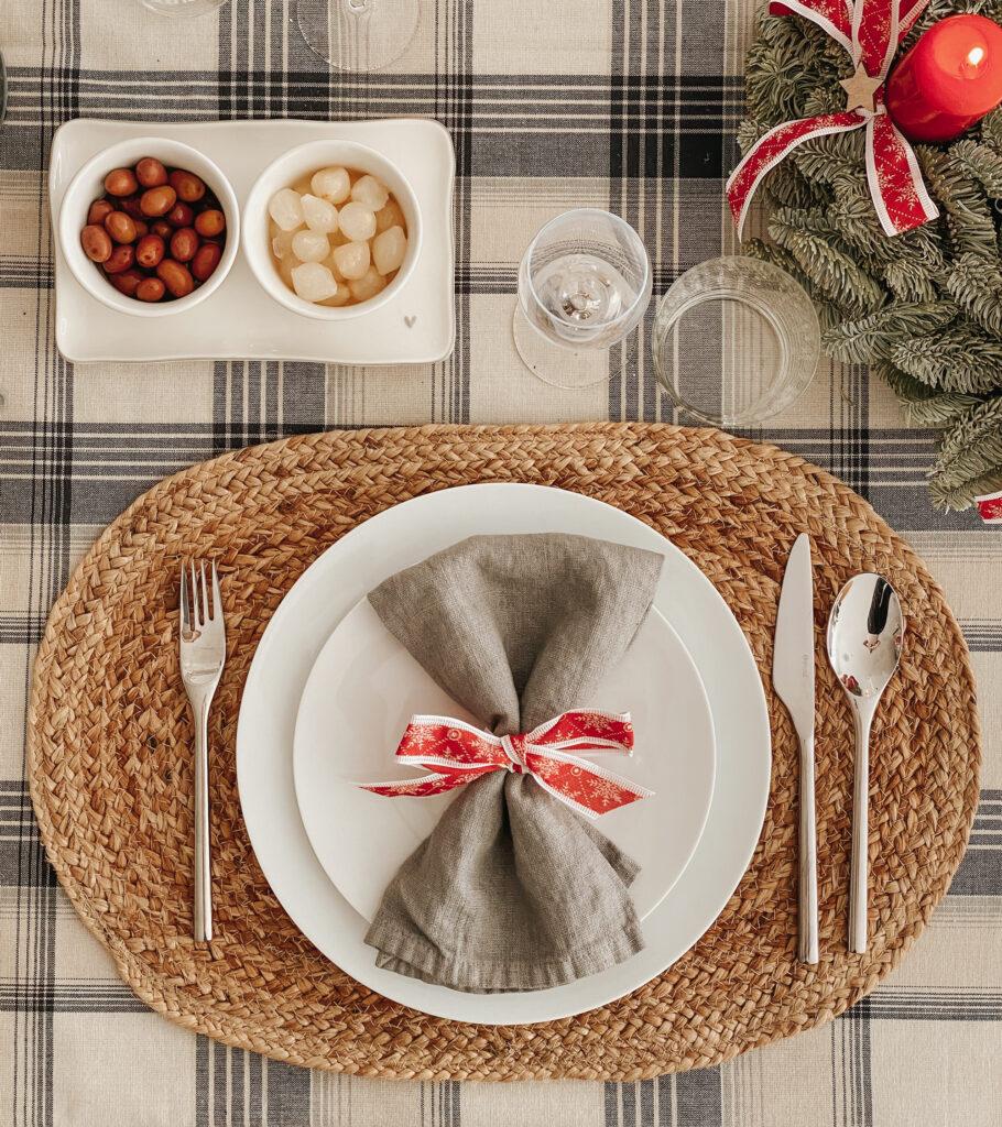 Idee per tavola natalizia