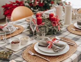 Idee per preparare una tavola natalizia