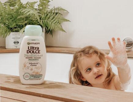Garnier Ultra Dolce shampoo bambini