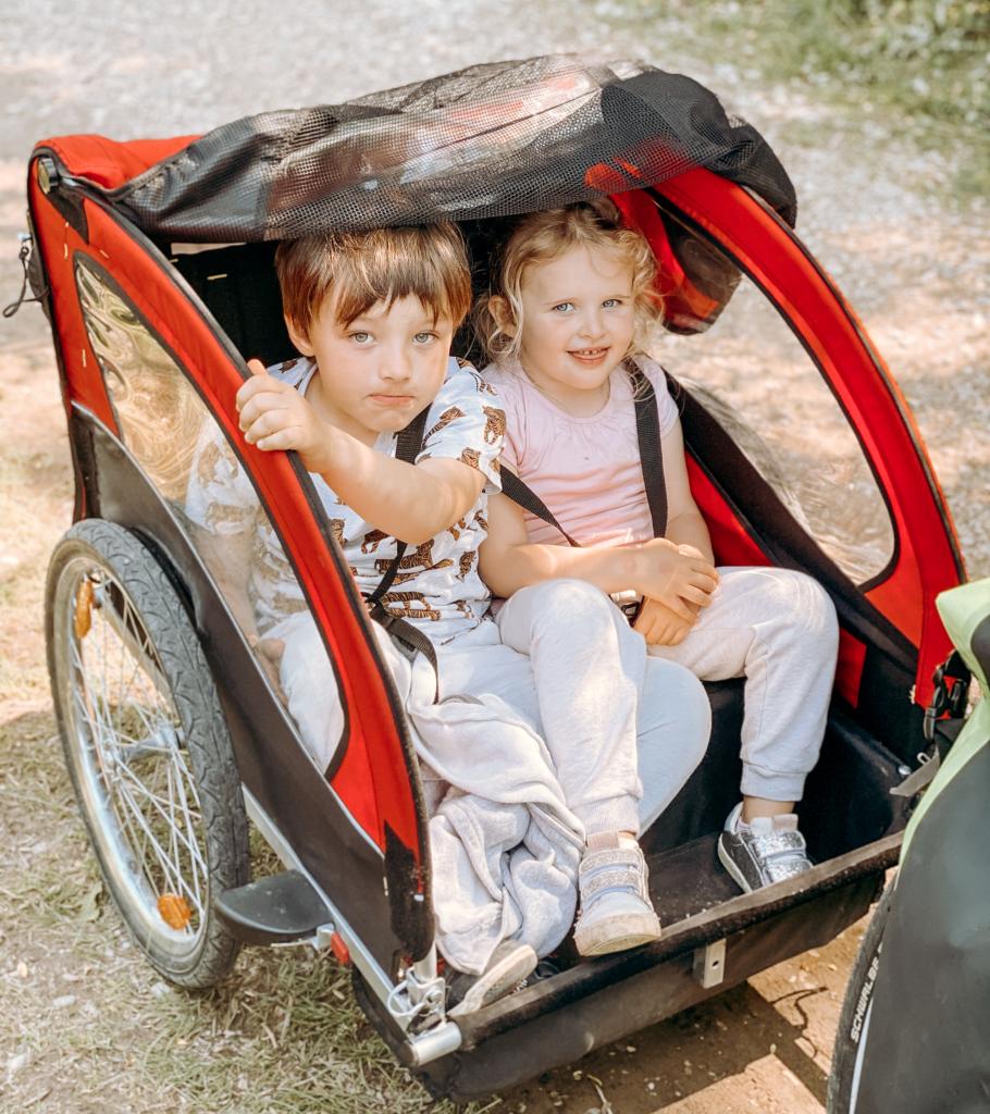 Percorso in bicicletta con i bambini