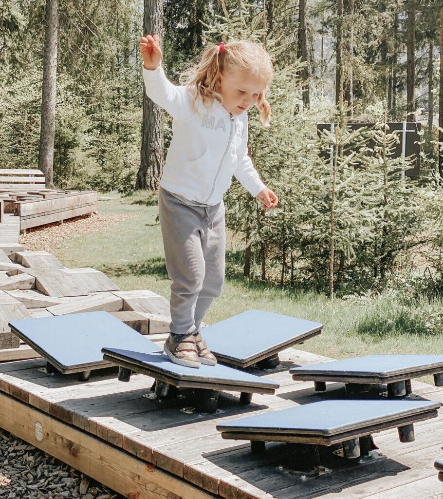 Parco giochi per bambini Alto Adige