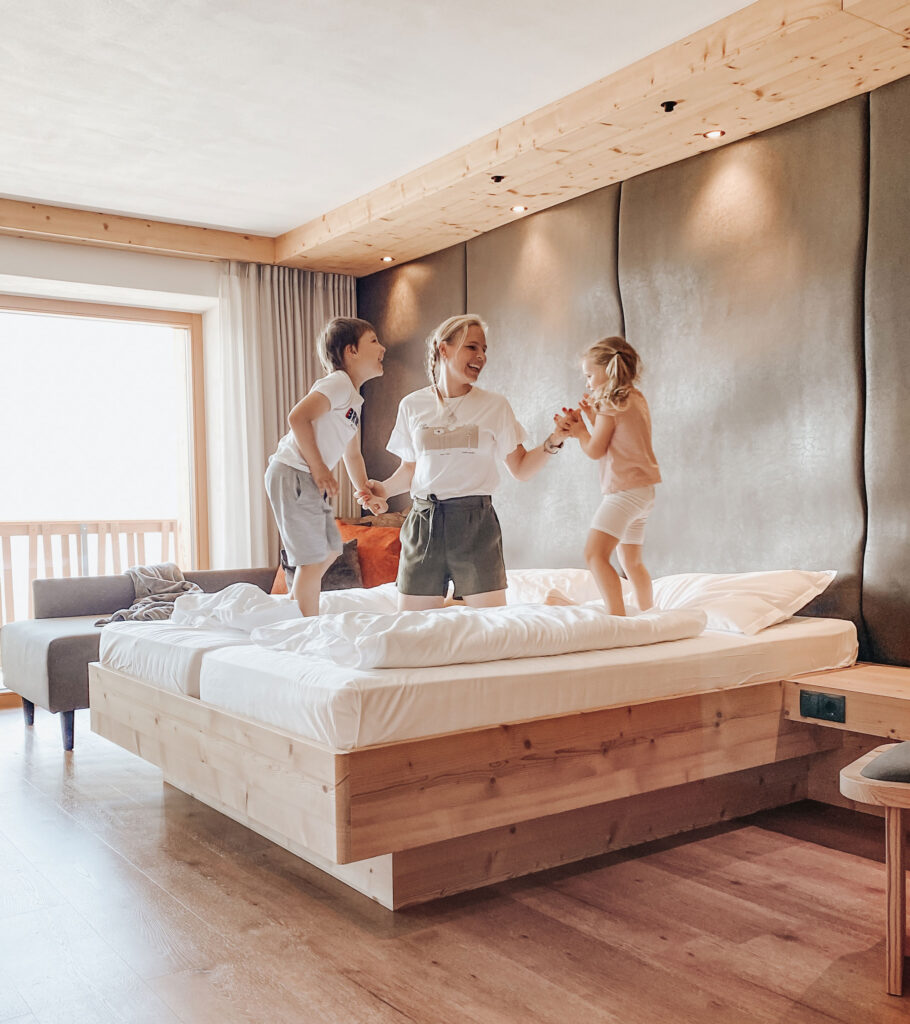 Family hotel per famiglie in montagna